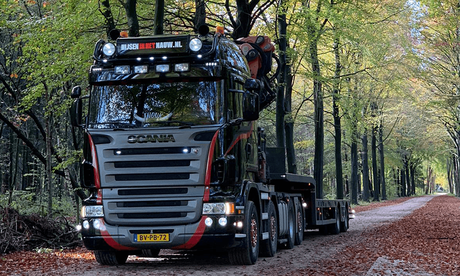 Scania Autokran Mieten